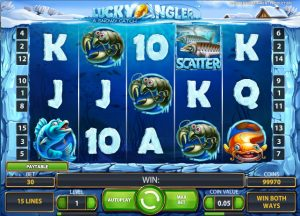 Lucky Angler Slot by NetEnt Screenshot