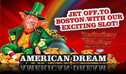 American Dream Promotion at Virgin Games Mobile Casino
