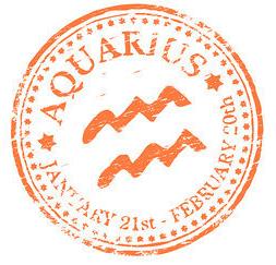 Aquarius Stamp