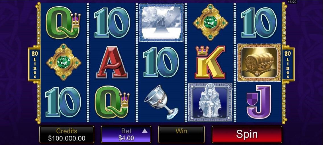 Avalon Slot by Microgaming