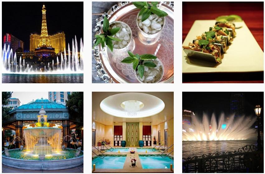 Bellagio Hotel Instagram