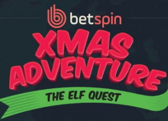 Betspin Xmas Adventure Promotion Banner
