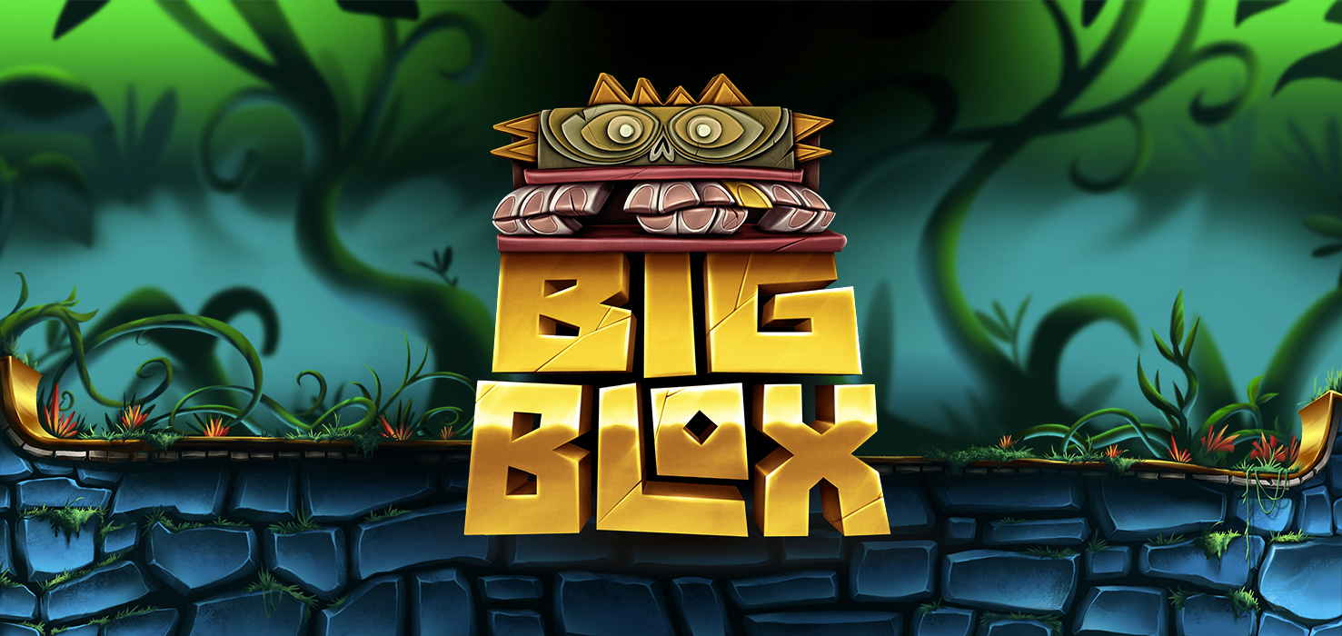 Big Blox Mobile Slot Yggdrasil Logo