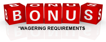 Bonus Wagering Requirements Red Blocks