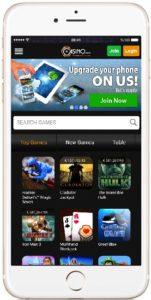 Casino.com in an iPhone 7