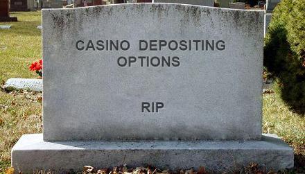 Casino Depositing Options Gravestone