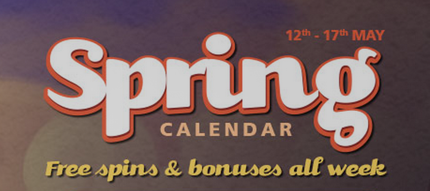 Casino Luck Sping Calendar Promotion