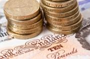 casino cash british notes coins