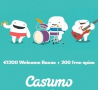 Casumo Welcome Bonus Banner