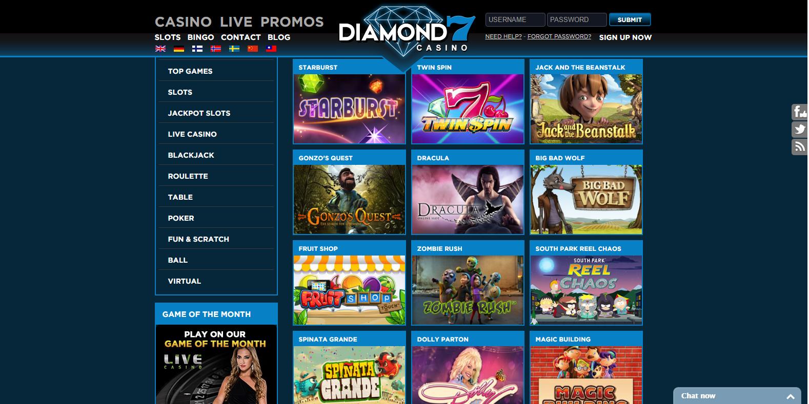 7 Casino Games