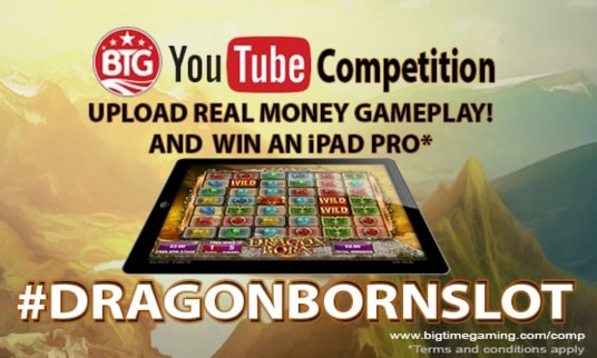 Dragon Born Slot Video Competition Banner