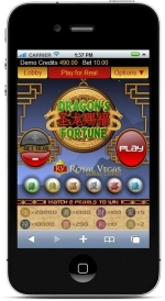Dragon Fortune Screenshot on iPhone
