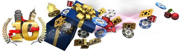 Europa Casino 10th Birthday Banner