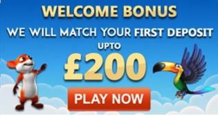 Fruity King Casino Welcome Bonus Banner