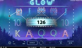 Glow Slot by NetEnt - Win