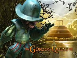 Gonzo's Quest Slot Game Logo
