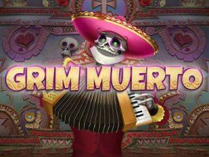Grim Muerto Slot Logo