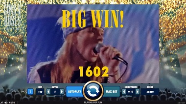 Guns N Roses NetEnt Slot - Big Win
