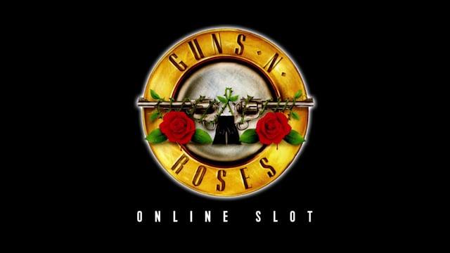 Guns N Roses NetEnt Slot Logo