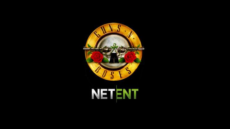 Guns & Roses Slot by NetEnt Logo