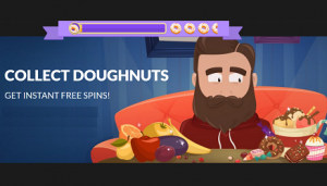 Guts Casino Donuts Promotion