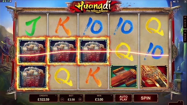 Huangdi Yellow Emperor Mobile Slot by Microgaming
