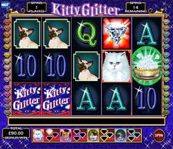 kitty glitter mobile slot
