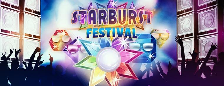 Leo Vegas Starburst Festival Promotion Banner