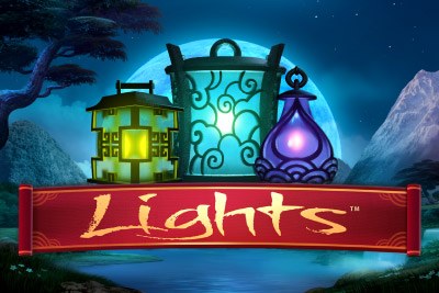 Lights Slot NetEnt Logo