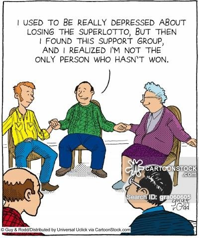 Lotto Support Group comic