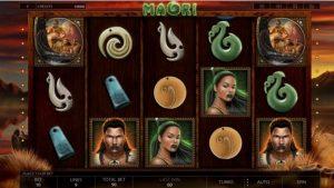 Maori Slot Reels Layout
