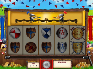 Medieval Money Jousting Extra Spins
