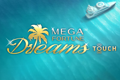 Mega Fortune Dreams Touch NetEnt Slot Logo