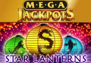 MegaJackpots Star Lanterns Logo