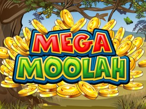 Mega Moolah by Microgaming - Slot Logo