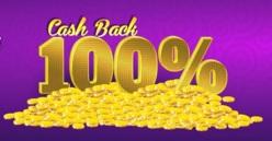 Mini Mobile Casino Cashback Banner