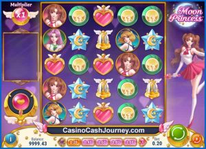 Moon Princess Slot Screenshot