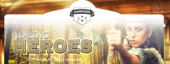 Mr Green Casino Nordic Heroes Promotion Banner