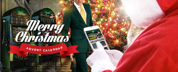 Mr Green Christmas Calendar promotion