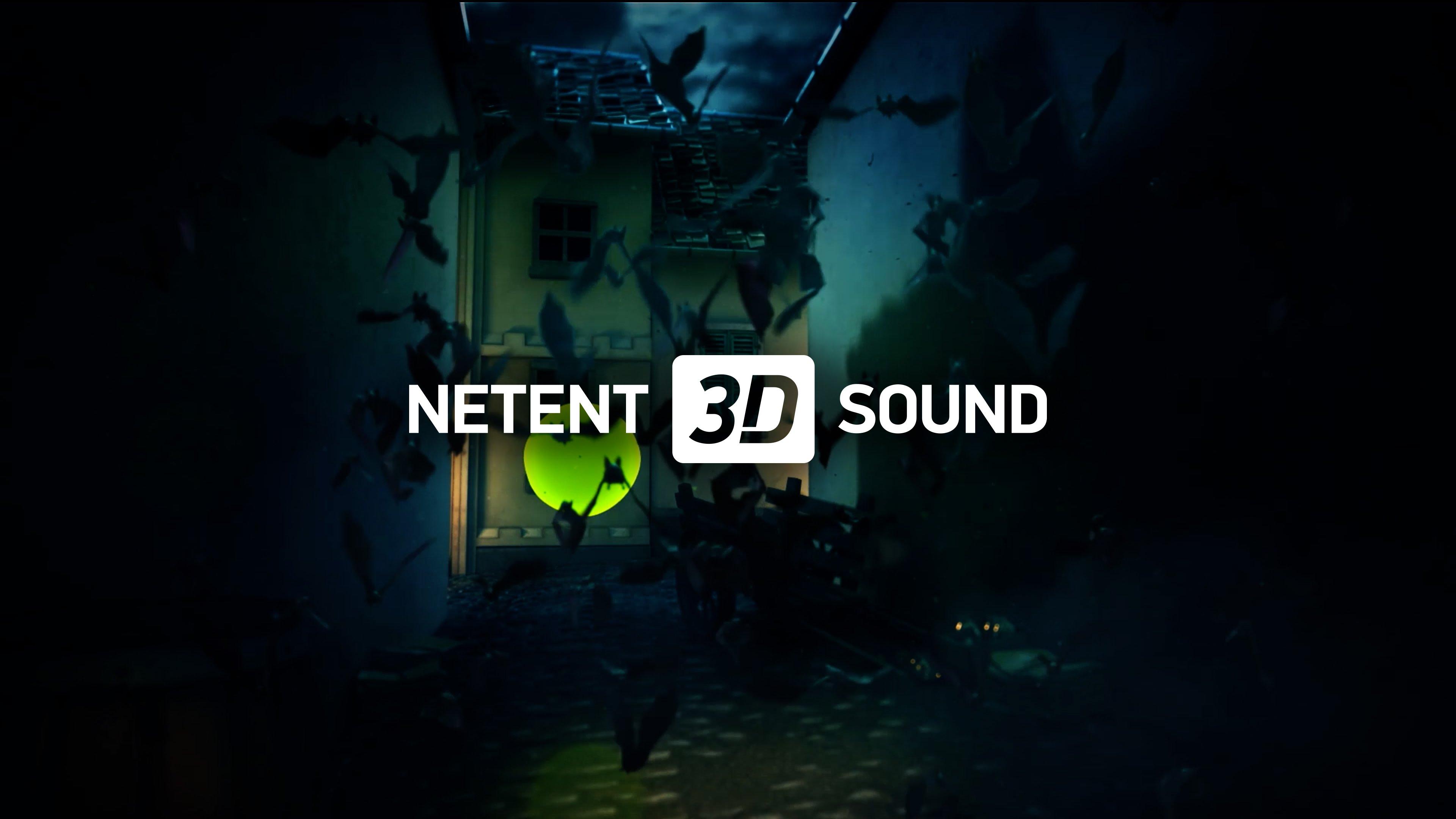 NetEnt 3D Sound Technology Logo