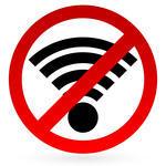 No Internet Sign
