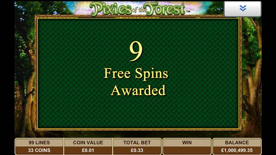 Pixies of the Forest Slot by IGT - Extra Spins