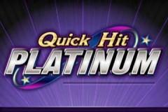 Quick Hit Platinum mobile slot game logo