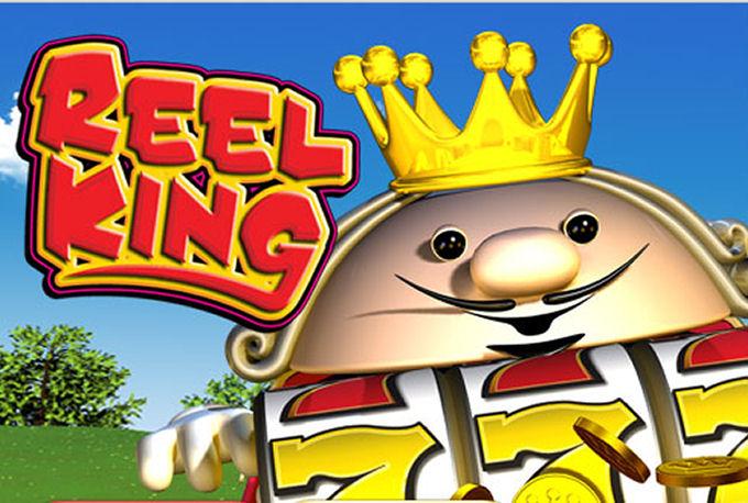 Reel King Mobile Slot Game Logo
