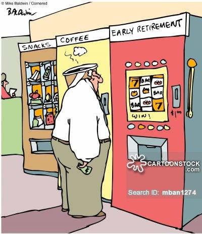 Early Retirement Gambling Comic