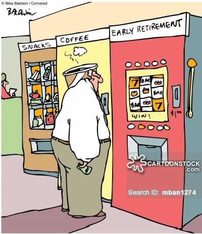 Early Retirement Gambling Comic