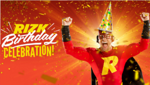 Rizk Casino 1st Birthday Celebration