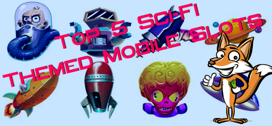 sci-fi mobile slots ms4u