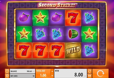 Second Strike Slot by Quickspin Gameplay