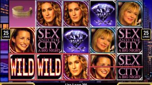 sex and the city video slot